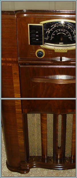 1942 ZENITH model 7S682 Radio Phonograph AFTER Restoration Gallery