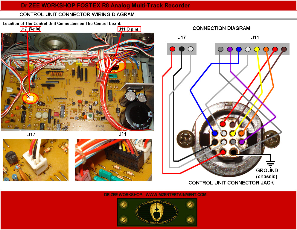 Dr Zee Workshop Fostex R Project Control Wiring on Electric Motor Wiring Diagram